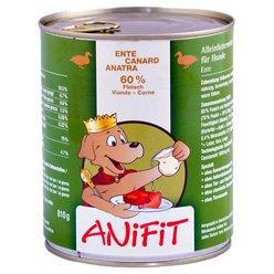 Cibo umido per cane (in scatola) ANiFiT Anatra