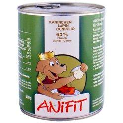 Cibo umido per cane (in scatola) ANiFiT Coniglio