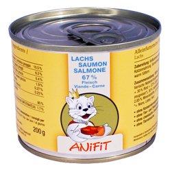 Cibo umido per gatto (in scatola) ANiFiT Salmone