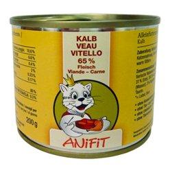 Cibo umido per gatto (in scatola) ANiFiT Vitello