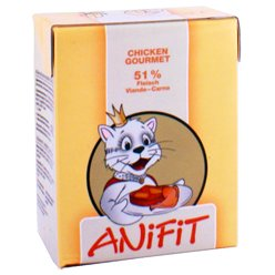 Cibo umido per gatto (in Tetra) ANiFiT Chicken Gourmet