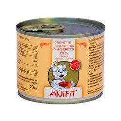 Cibo umido per gatto (in scatola) ANiFiT Gamberetti